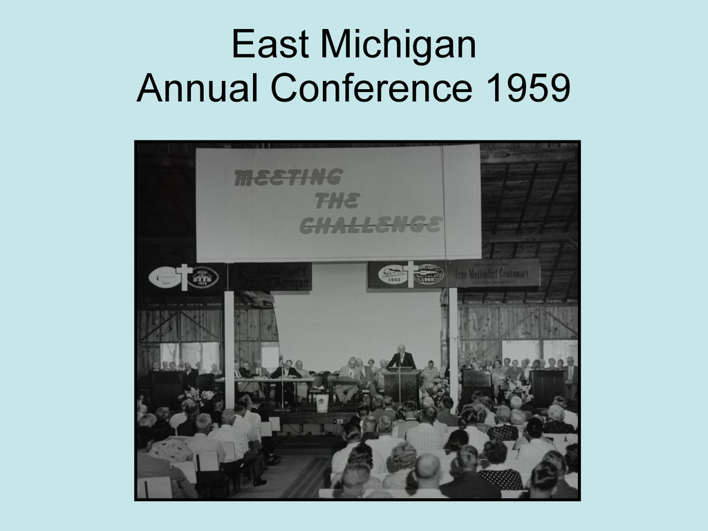 East Michigan Annual Conference 1959