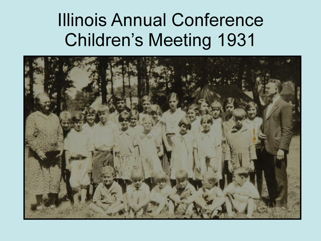 Illinois Annual Conference Children's Meeting 1...