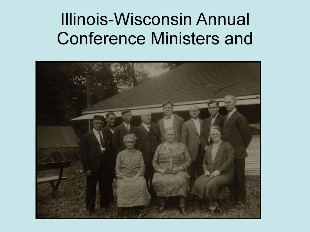 Illinois-Wisconsin Annual Conference Ministers ...