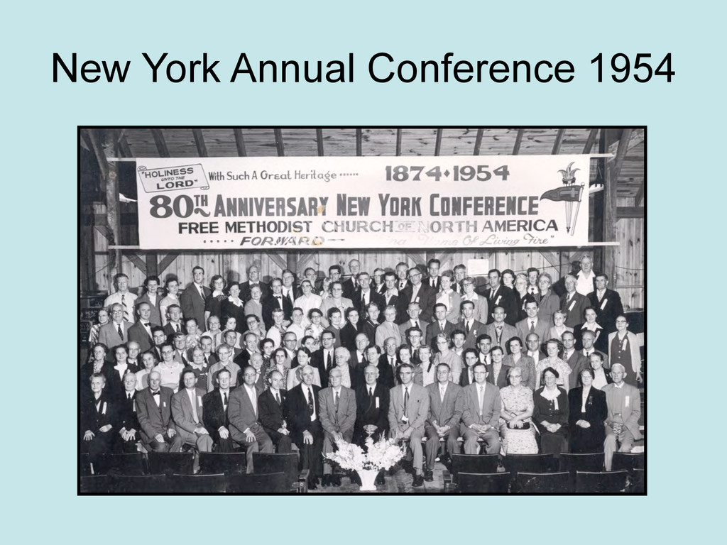 New York Annual Conference 1954