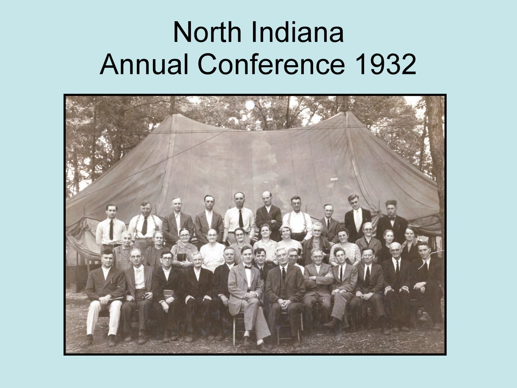 North Indiana Annual Conference 1932