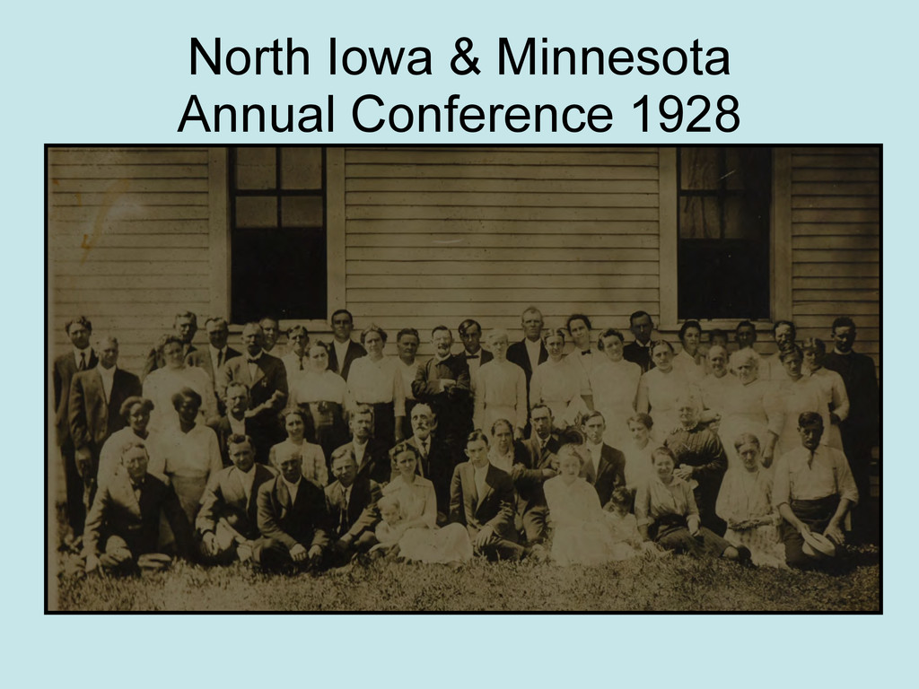 North Iowa & Minnesota Annual Conference 1928