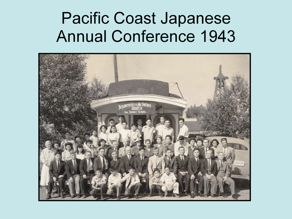 Pacific Coast Japanese Annual Conference 1943