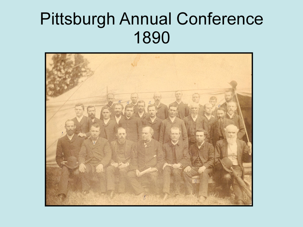 Pittsburgh Annual Conference 1890