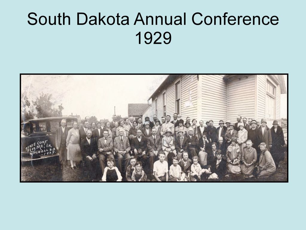 South Dakota Annual Conference 1929