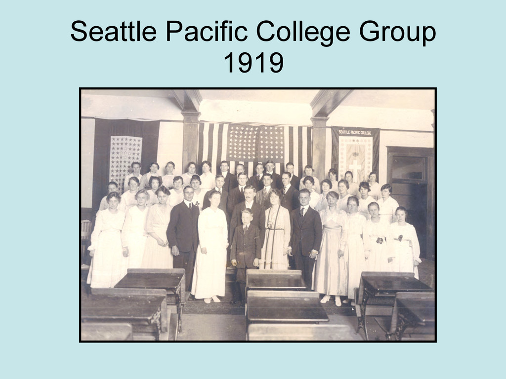 Seattle Pacific College Group 1919