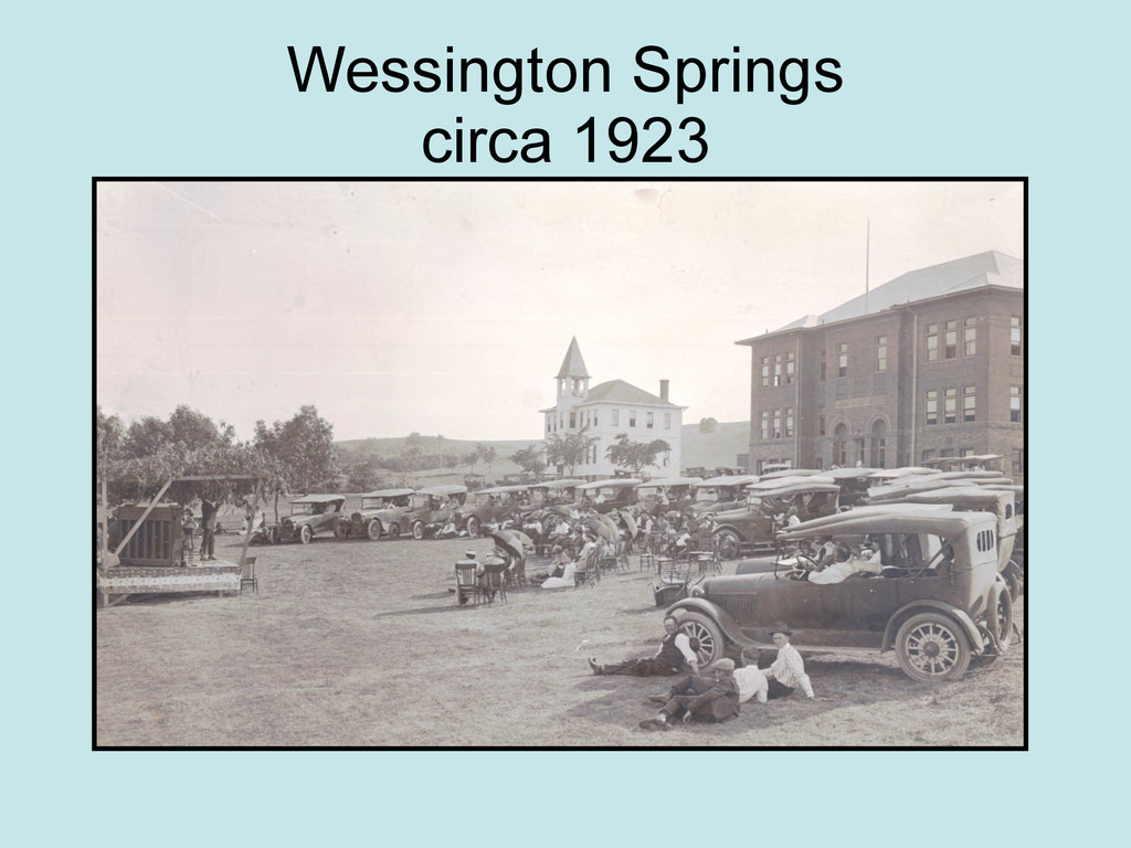 Wessington Springs circa 1923