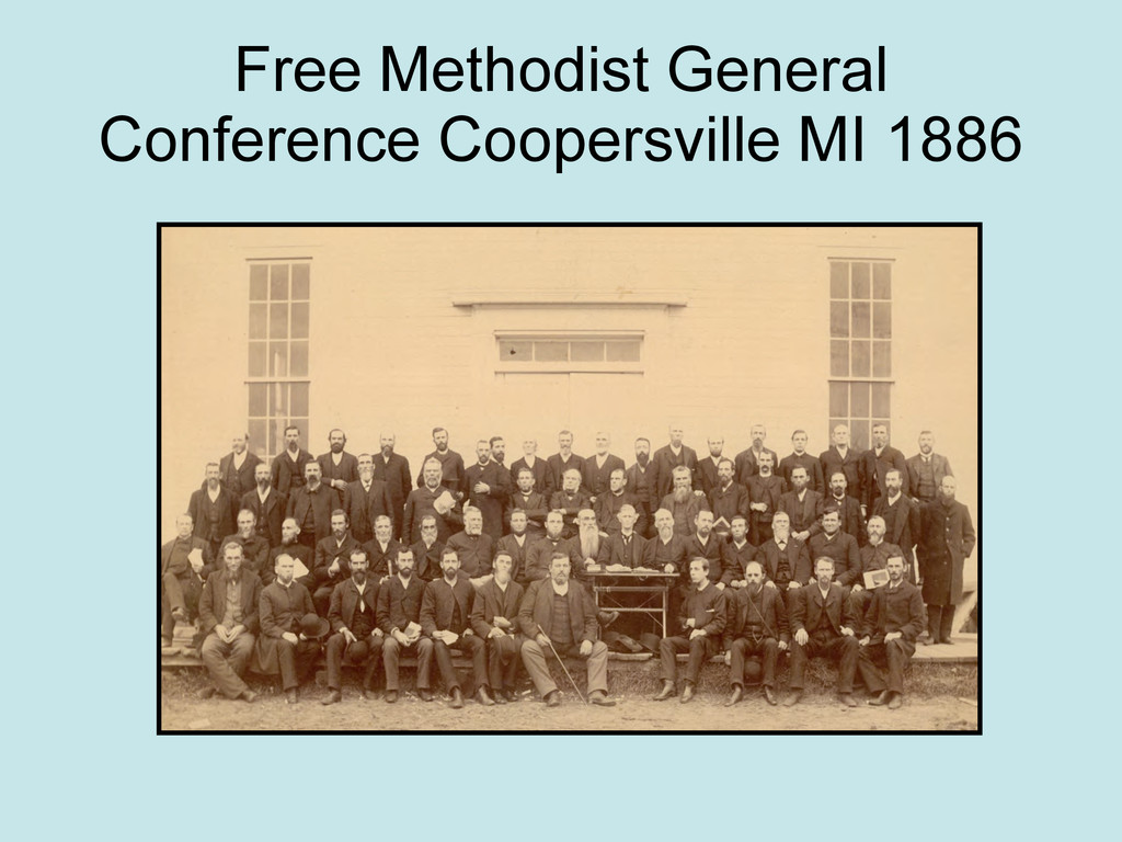 Free Methodist General Conference Coopersville ...