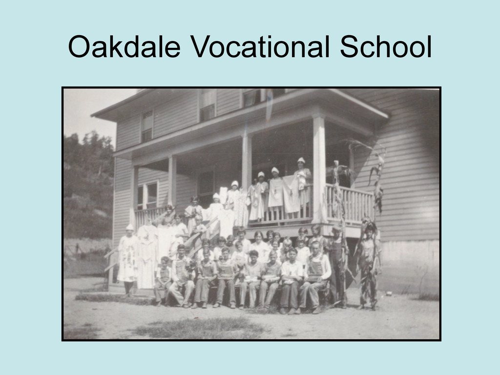 Oakdale Vocational School