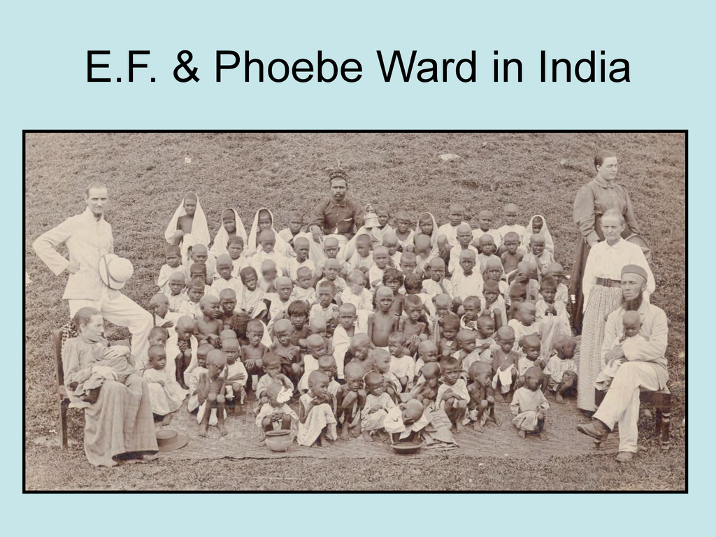 E.F. & Phoebe Ward in India