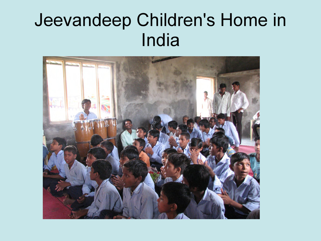 Jeevandeep Children's Home in India