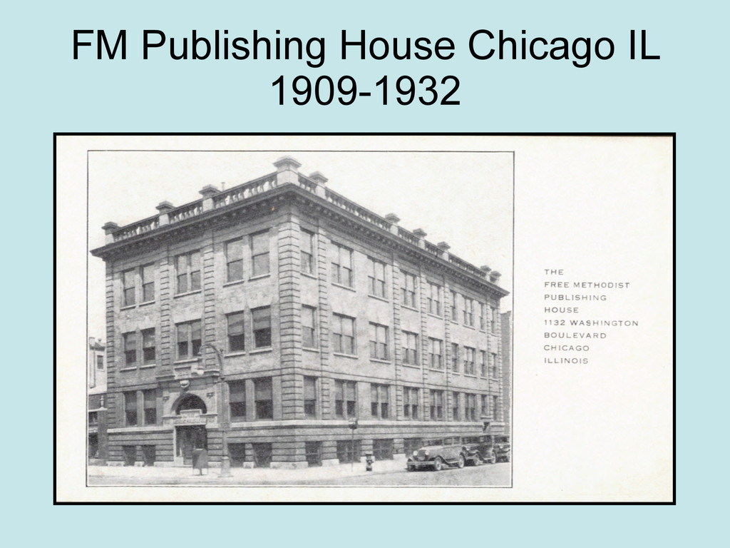 FM Publishing House Chicago IL 1909-1932