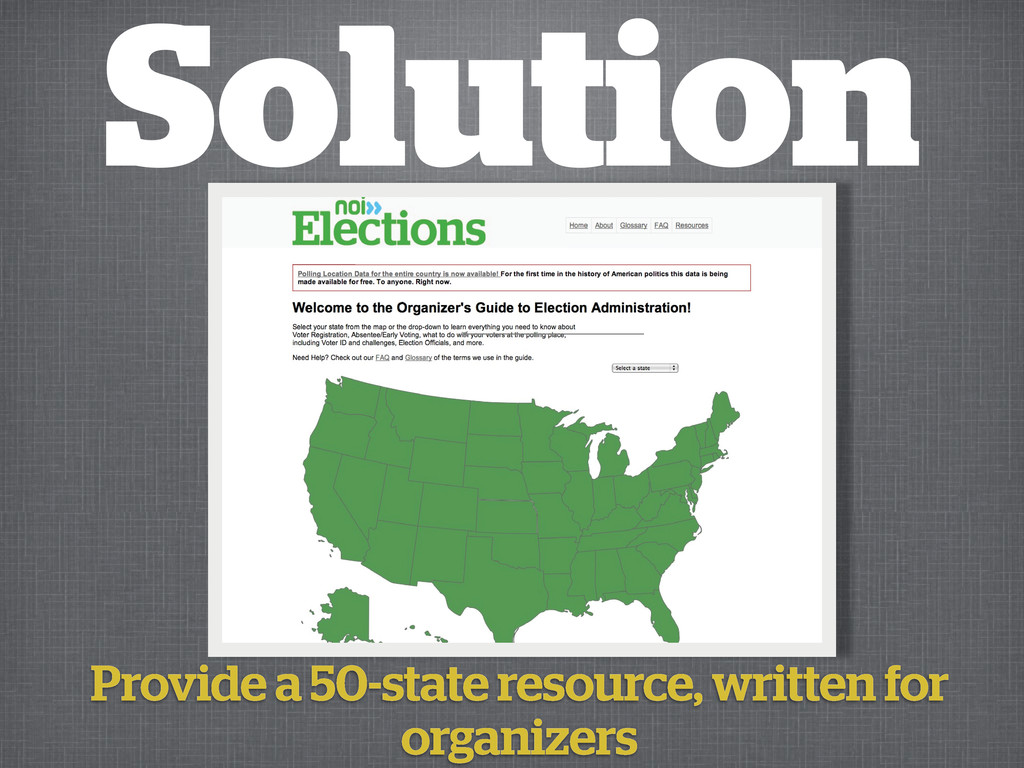 Solution Provide a 50-state resource, written f...