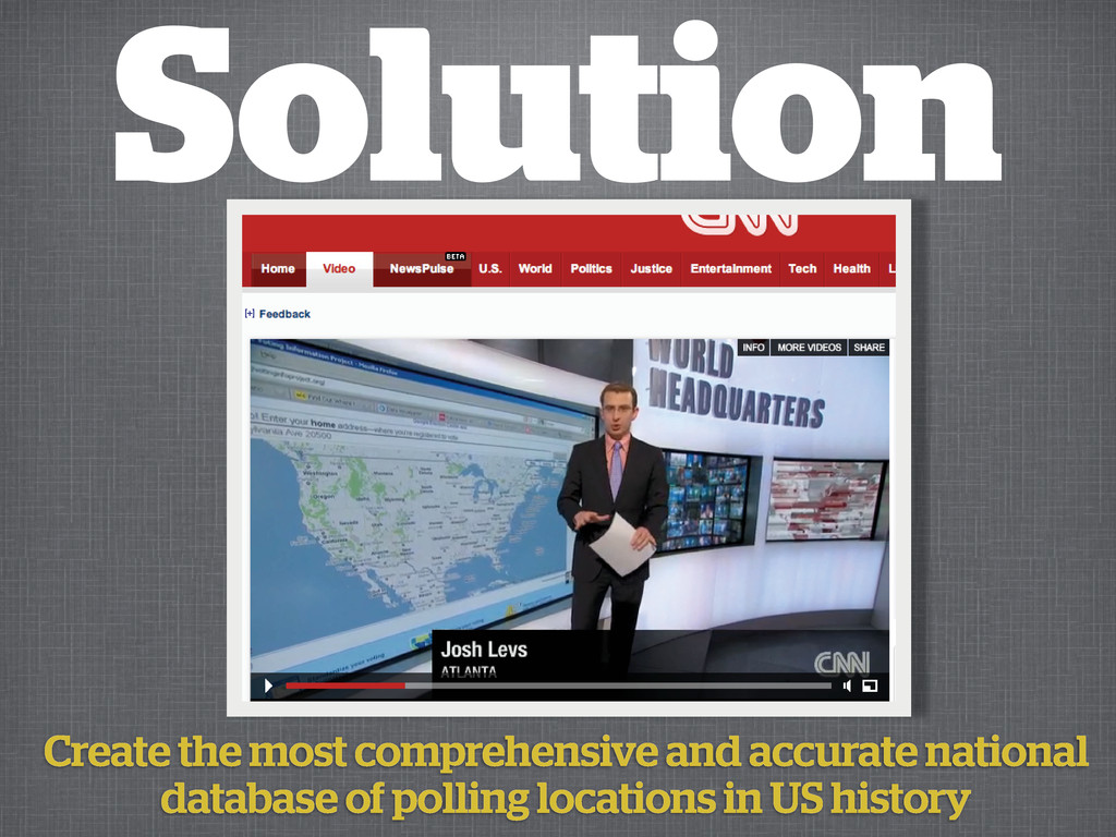 Solution Create the most comprehensive and accu...