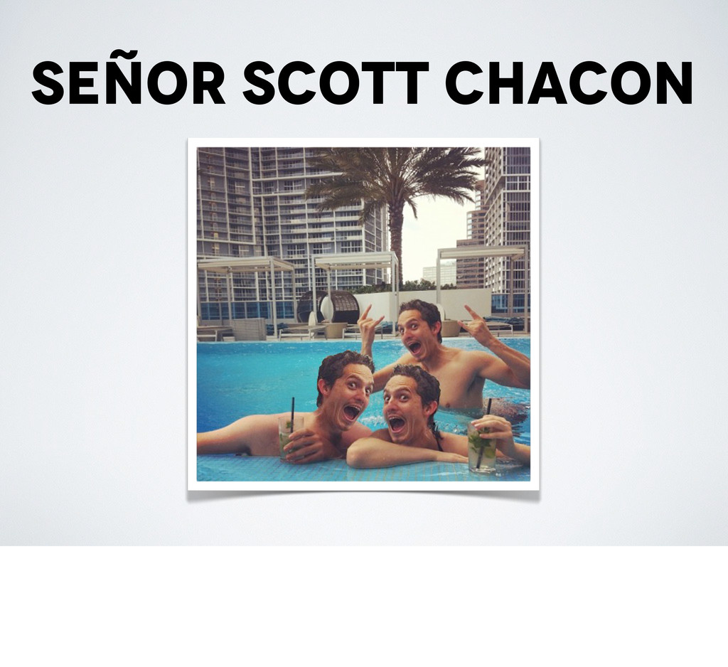 Señor scott chacon