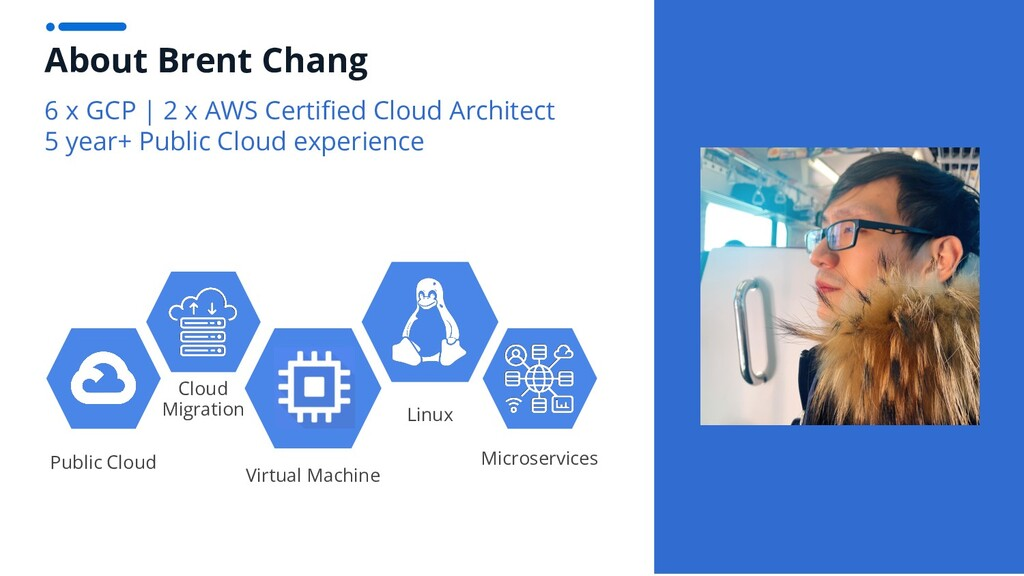 About Brent Chang 6 x GCP | 2 x AWS Certified Cl...