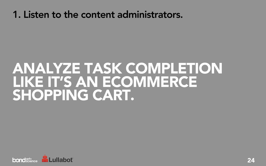 ANALYZE TASK COMPLETION LIKE IT'S AN ECOMMERCE ...