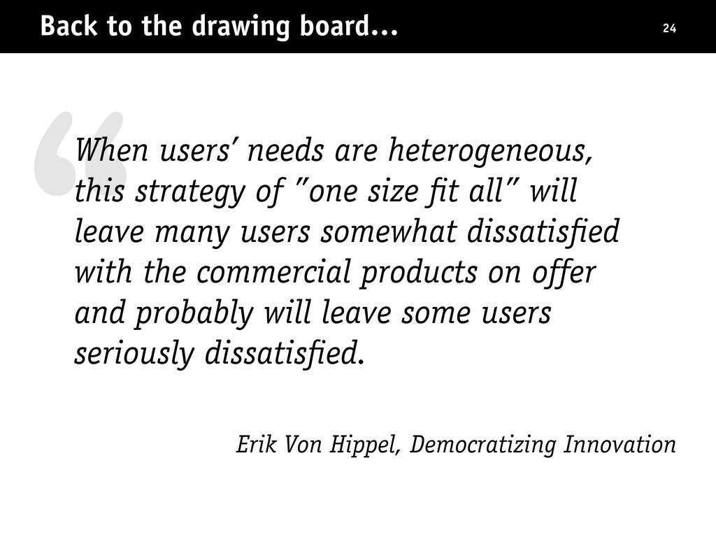 """ Erik Von Hippel, Democratizing Innovation Bac..."