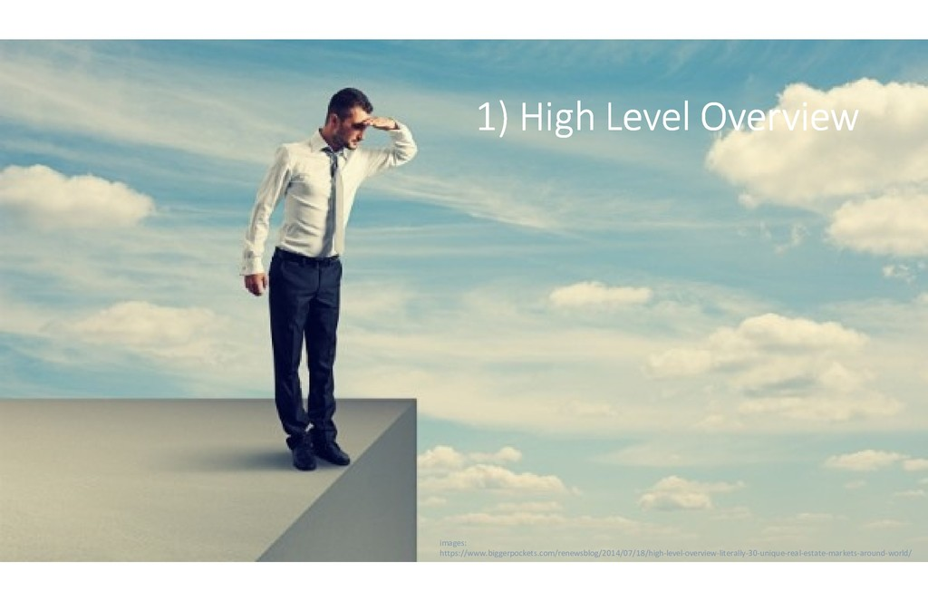 1) High Level Overview 1) High Level Overview 1...