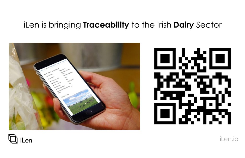 iLen is bringing Traceability to the Irish Dair...