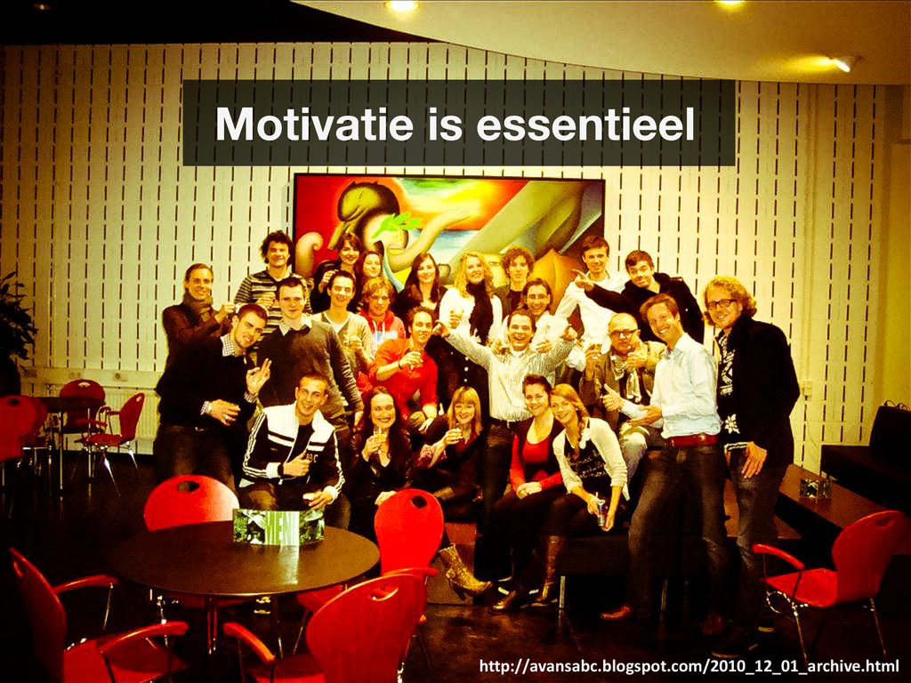Motivatie is essentieel http://avansabc.blogspo...