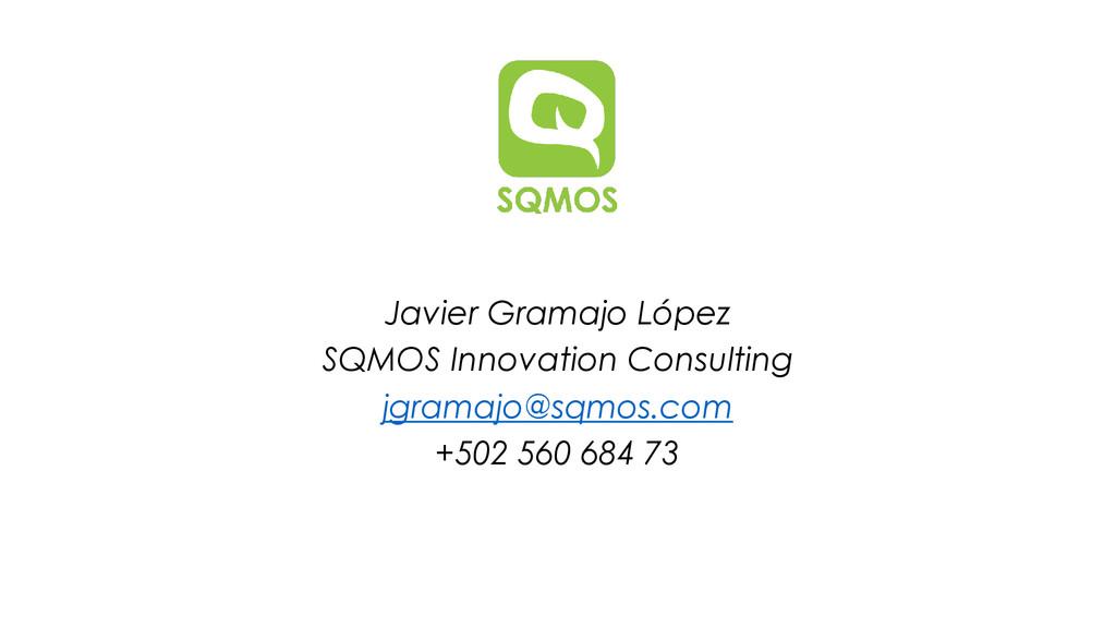 Javier Gramajo López SQMOS Innovation Consultin...