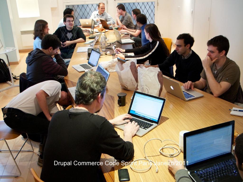 Drupal Commerce Code Sprint Paris Janeiro/2011