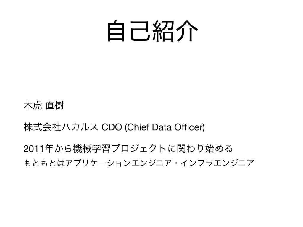 ࣗݾհ ދ थ  גࣜձࣾϋΧϧε CDO (Chief Data Officer)  20...