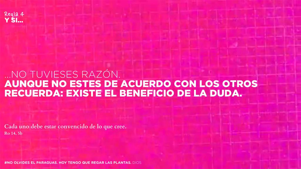 #NO OLVIDES EL PARAGUAS. HOY TENGO QUE REGAR LA...