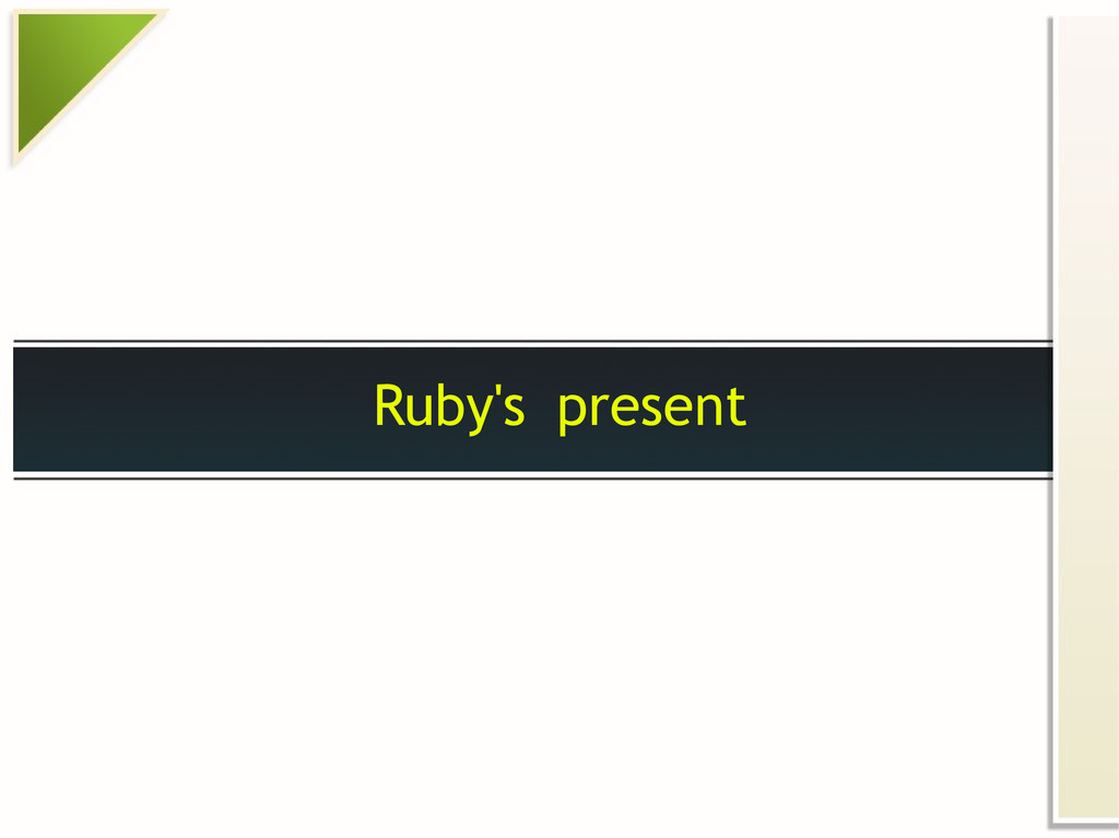 Ruby's present