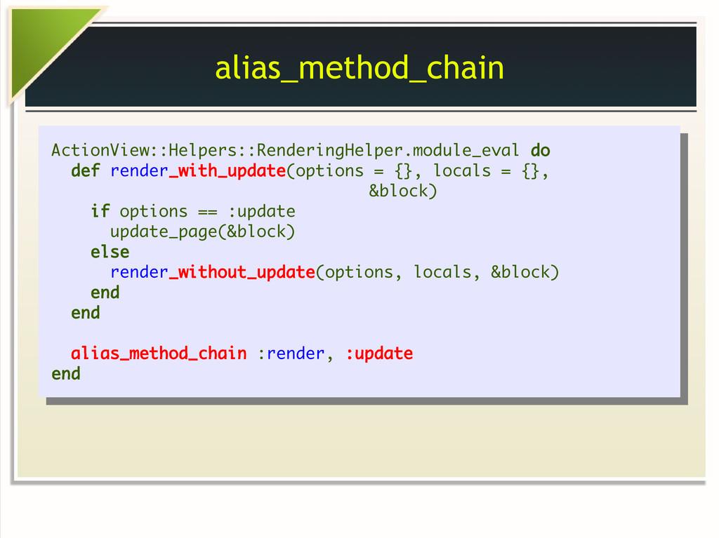 alias_method_chain ActionView::Helpers::Renderi...