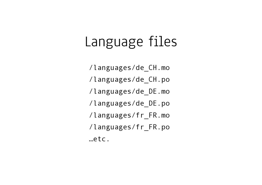 Language files /languages/de_CH.mo /languages/d...