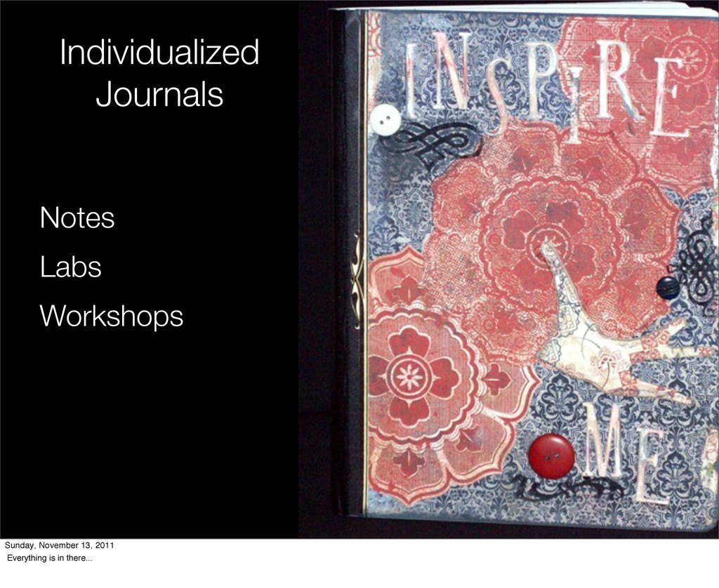 Individualized Journals Notes Labs Workshops Su...