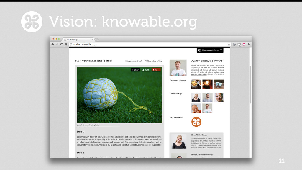 11 Vision: knowable.org