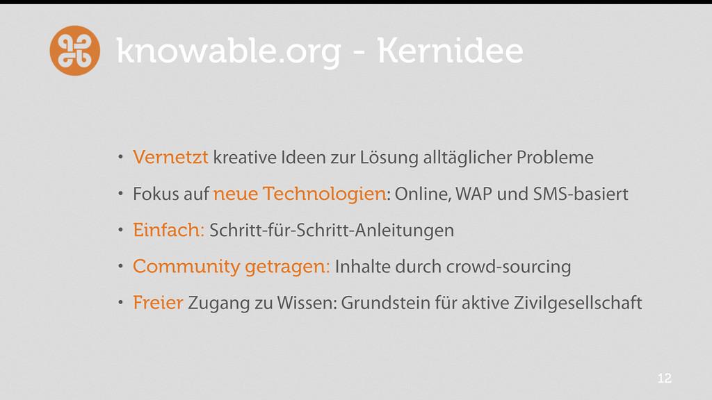 knowable.org - Kernidee • Vernetzt kreative Ide...