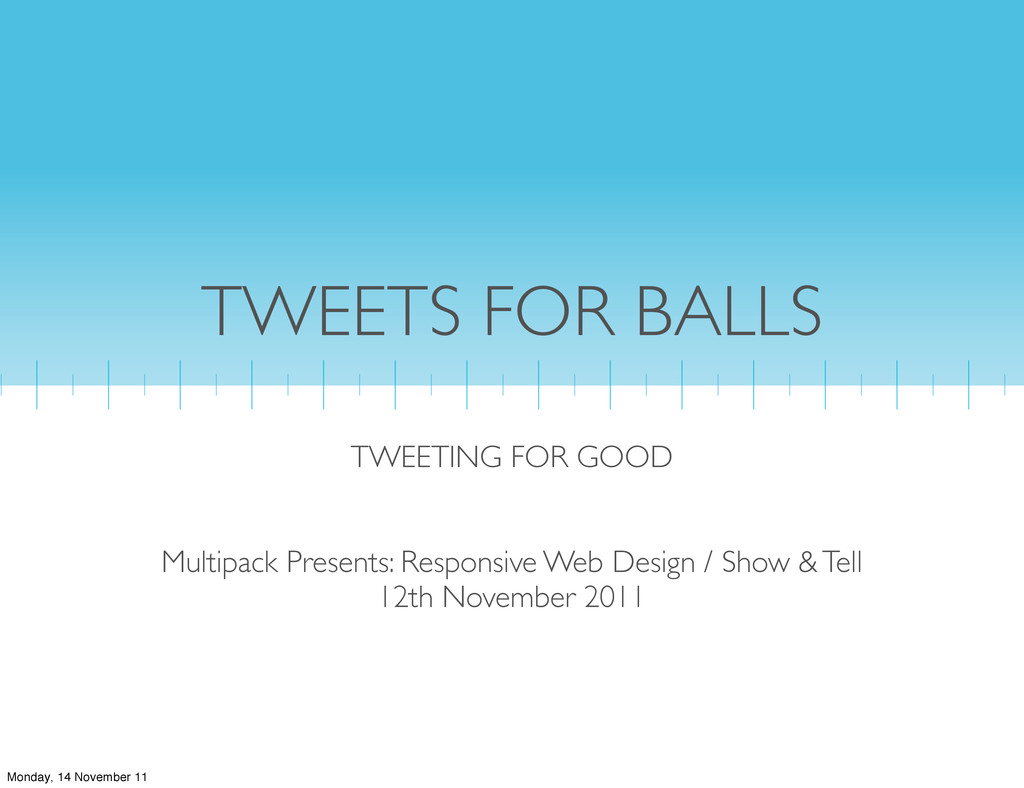 TWEETS FOR BALLS TWEETING FOR GOOD Multipack Pr...