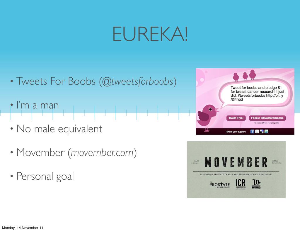EUREKA! • Tweets For Boobs (@tweetsforboobs) • ...