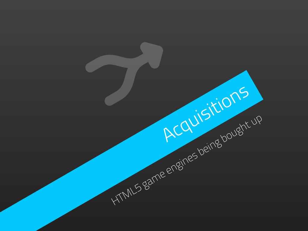 Acquisitions HTML5 game engines being bought up