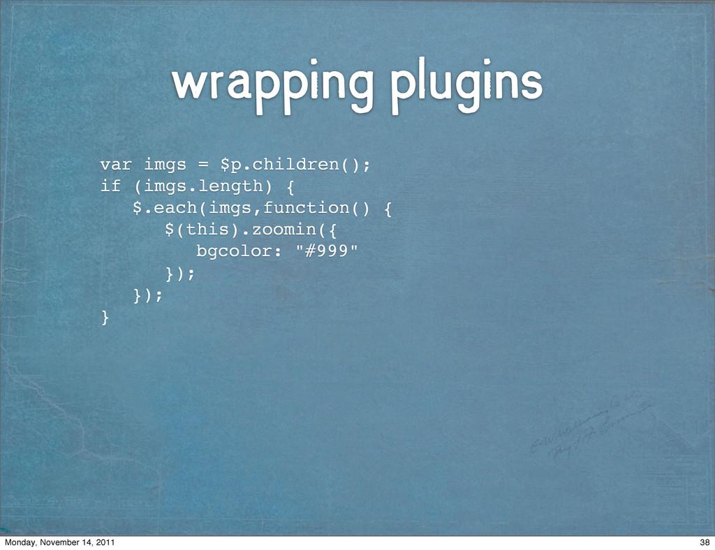 wrapping plugins ! ! var imgs = $p.children(); ...
