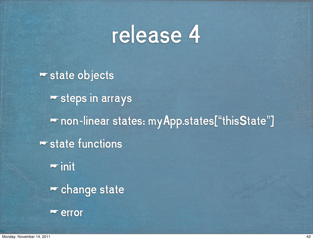release 4 ☛ state objects ☛ steps in arrays ☛ n...