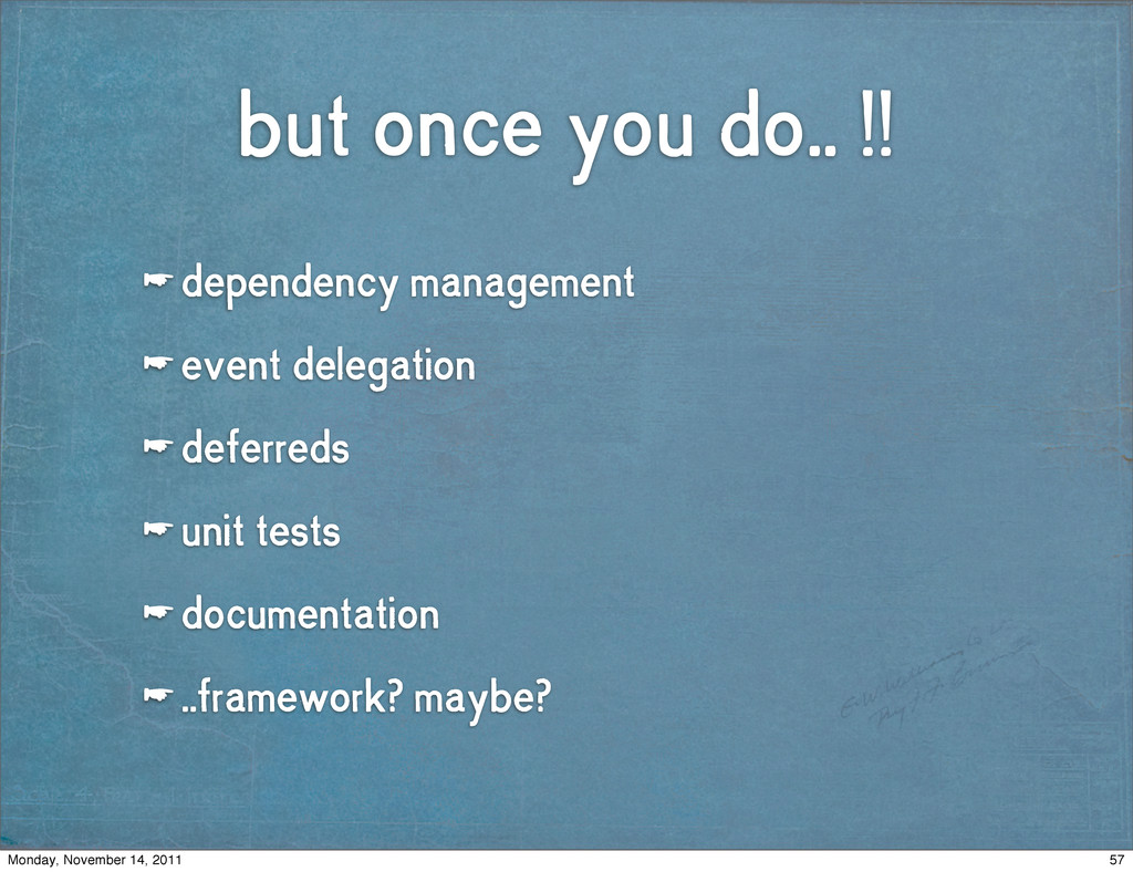 but once you do.. !! ☛ dependency management ☛ ...