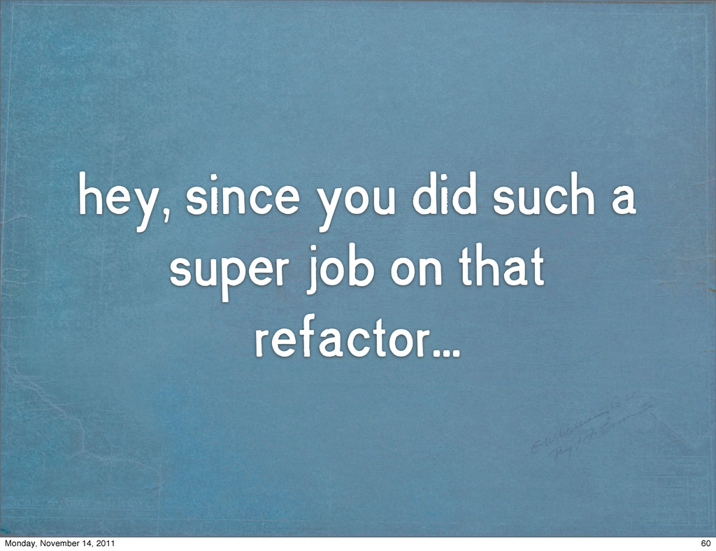 hey, since you did such a super job on that ref...