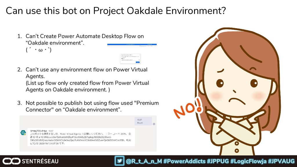 Can use this bot on Project Oakdale Environment...