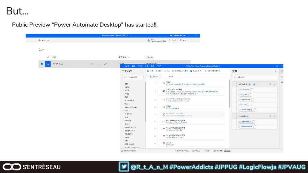 "But… Public Preview ""Power Automate Desktop"" ha..."