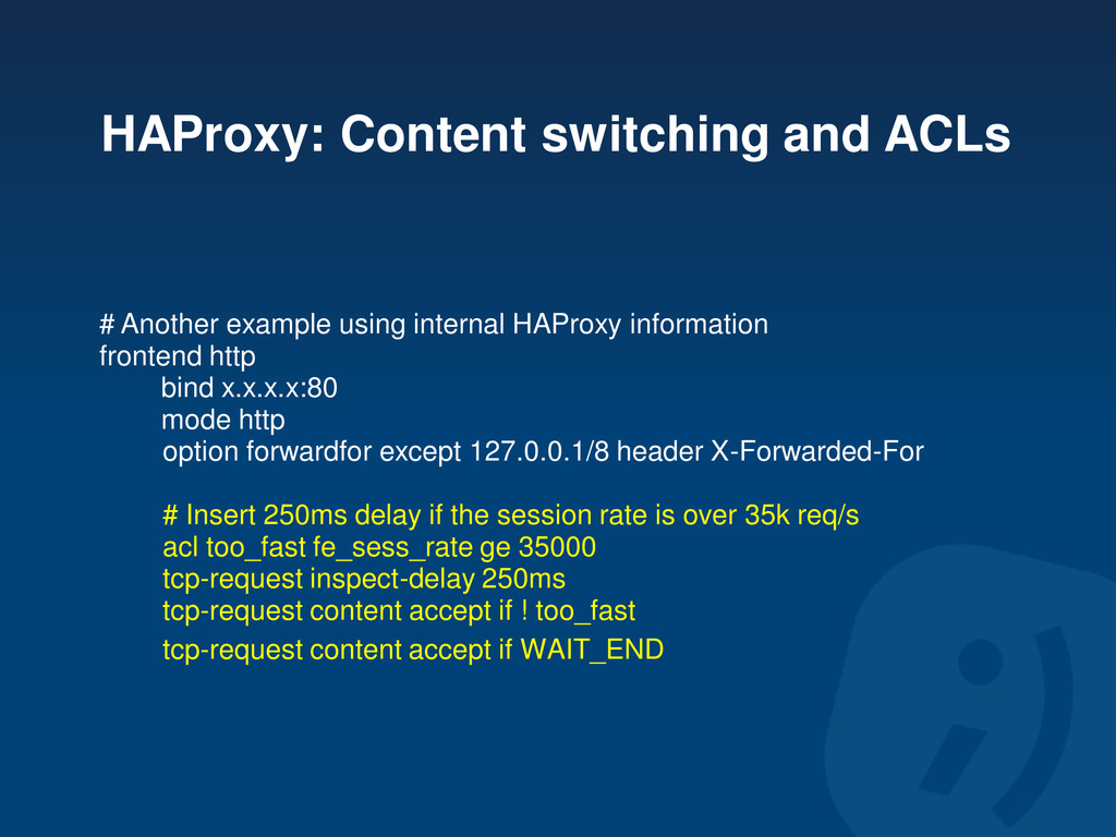 HAProxy: Content switching and ACLs # Another e...