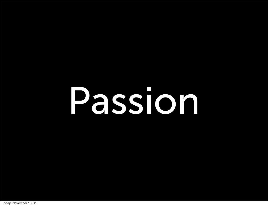 Passion Friday, November 18, 11