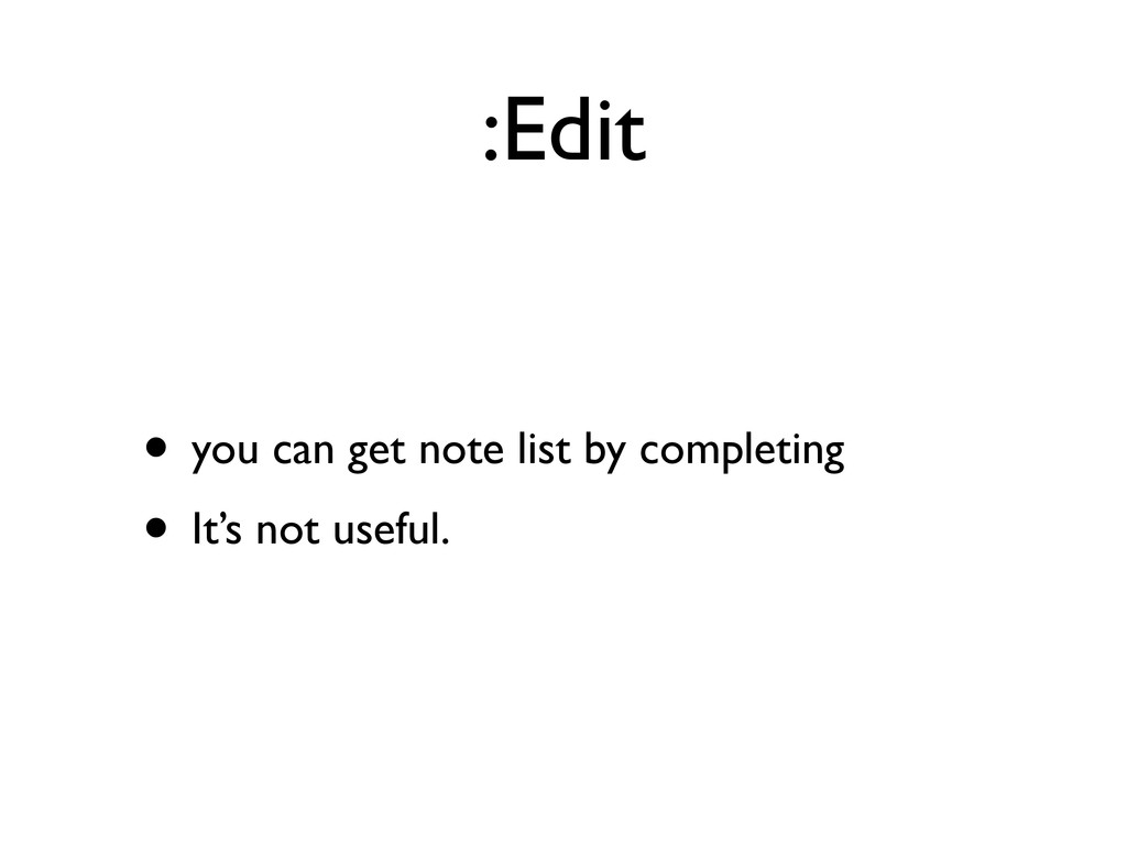 :Edit • you can get note list by completing • I...