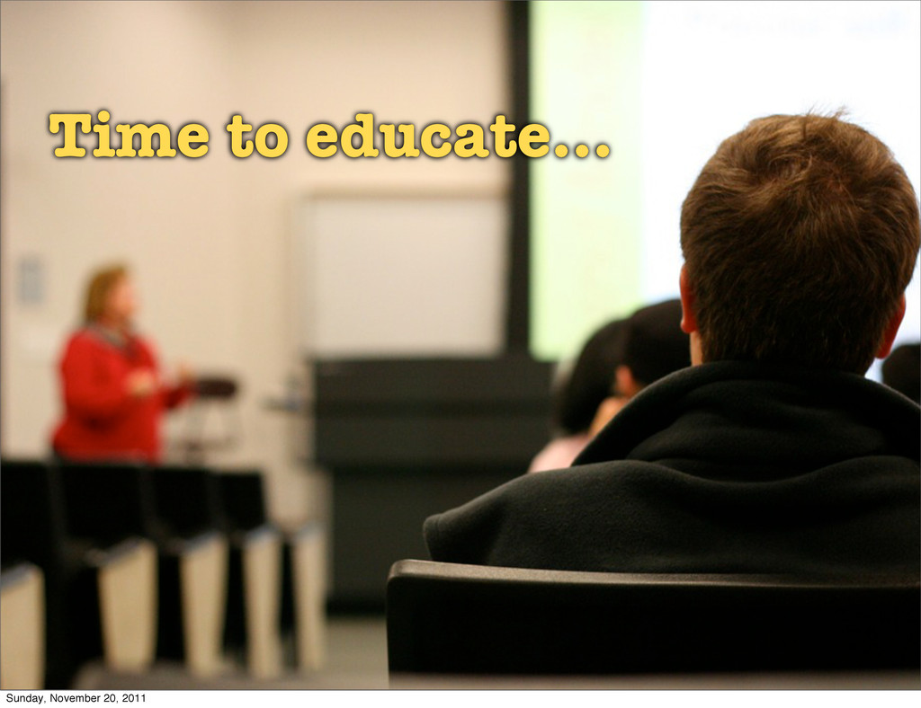 time for some education classroom Time to educa...