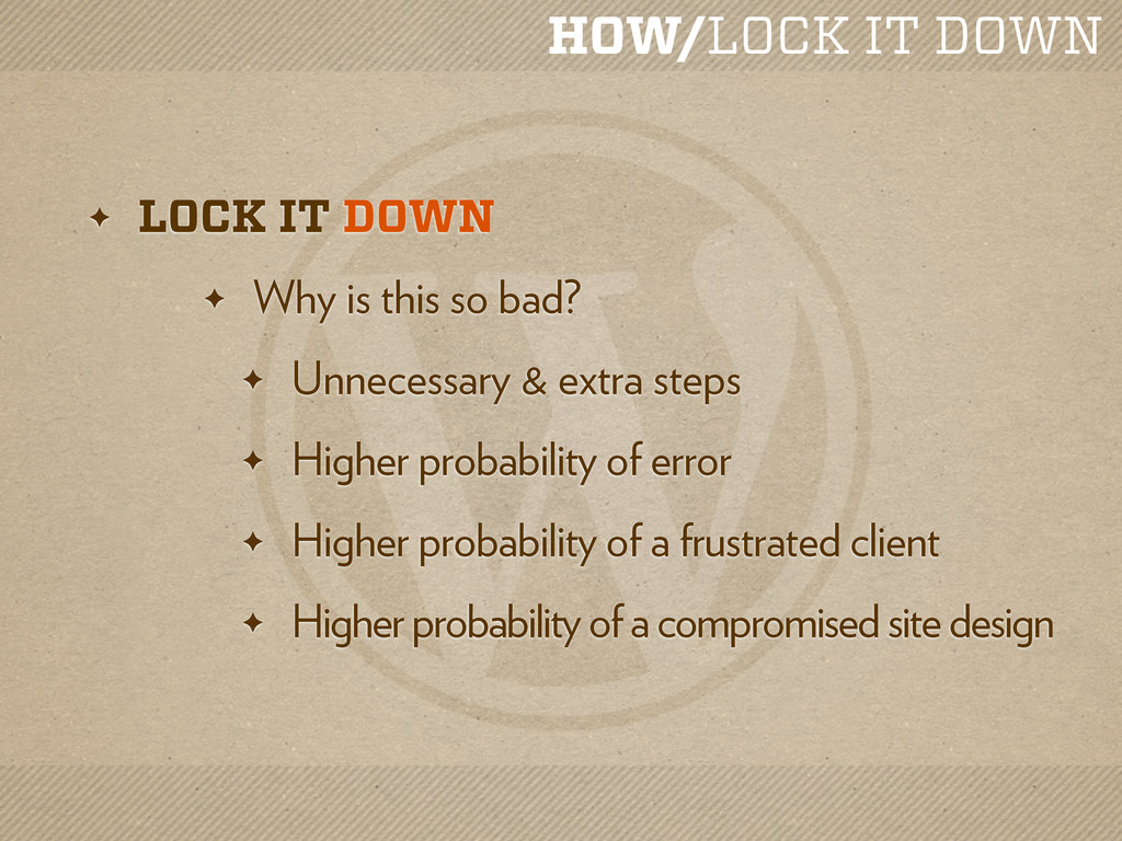 HOW/LOCK IT DOWN ✦ LOCK IT DOWN ✦ Why is this s...