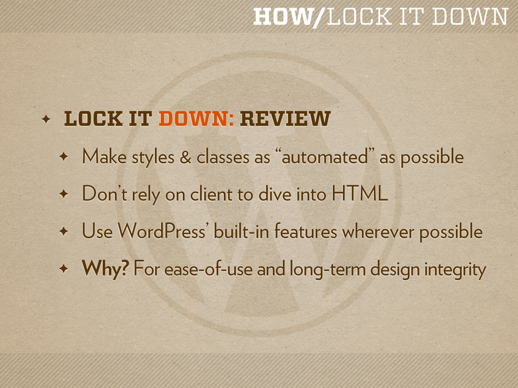 HOW/LOCK IT DOWN ✦ LOCK IT DOWN: REVIEW ✦ Make ...